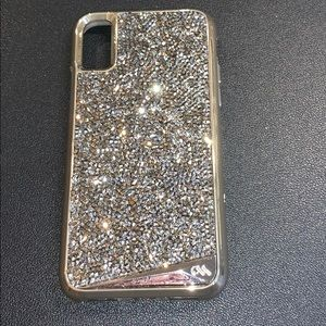 CASEMATE CHAMPAGNE CRYSTAL IPHONE X/XS CASE